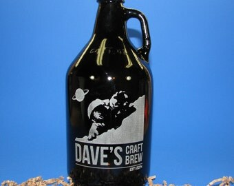 Beer Growler 64 OZ Personalized by You
