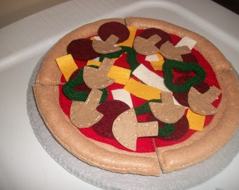 Felt Pizza Make your own.