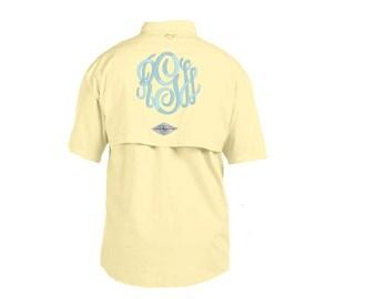 Monogrammed Fishing Shirt