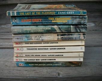 Vintage Western Books, Louis L'Amour