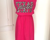 Texas State Bobcats Game Day T Shirt Tee Dress