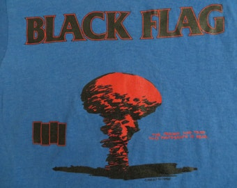 BLACK FLAG 1986 tour TSHIRT