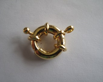 4 Large Gold Clasps