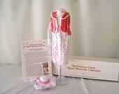 Vintage Princess Diana Royal Wardrobe Collection Red and White Polka Dot Suit DDU/11 NIB Danbury Mint Fits 14 Inch Doll ca. 1982