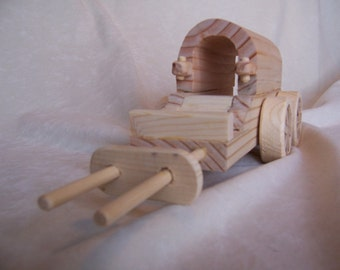 Toy Peddler's Wagon, Created for Kids, Children, from Reclaimed Wood
