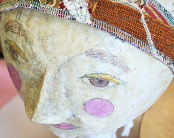 Eco Friendly Headband, festival wear, hair band, hair accessory