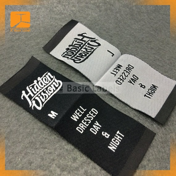 300 custom woven labels clothing labels custom woven for Create custom clothing tags