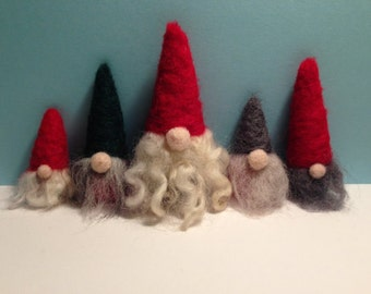 Felted Tomte Family