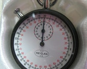 Vintage Meylan Stopwatch, New in Box, Original Tag on Back, Swiss made, Time and Work Measurement