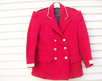 Vintage Band Uniform Jacket / Band Leader Costume