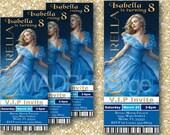 Cinderella Party invitation, Cinderella birthday, CINDERELLA 2015 printable movie invitation, Movie Party Printable, Cinderella printable