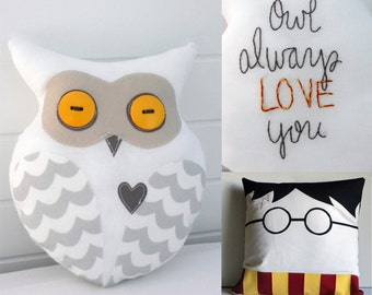 Harry Potter's Hedwig Small Plush Owl -- Owl Always Love You