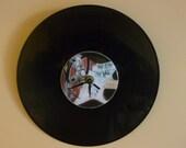 Pink Floyd The Wall Recycled Vinyl/CD Record Wall  Clock Art