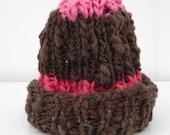 chapeau des fraises au chocolat