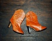 Vintage 70s Southern Boot , BOHO Booties sz 6.5