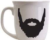 BEARD - World's Best Beard Coffee Tea Hot Chocolate Mug- mug Dad Son Grandfather Husband Best Beard Gift Kitchen Vinyl