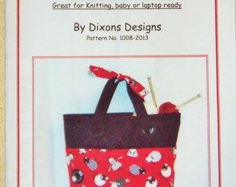 Pattern - The Knitting Bag Pattern 1008-2013
