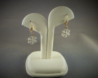 Earrings - Small Snowflake