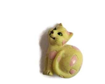 Cute Cat Buttons... Set of 2