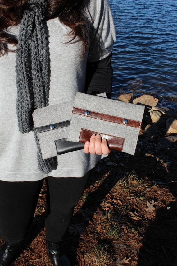 iPad Mini Leather Case iPad Mini Wool Sleeve iPad Mini Case iPad Mini Sleeve iPad Mini Cover Colonial