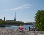 Parisian Ride - Limited Edition Lego print no 10/125