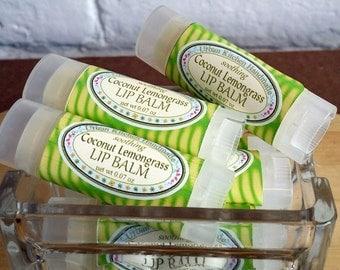 Coconut Lemongrass Lip Balm