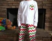Christmas Pajamas personalized pocket shirt and comfy cotton pants