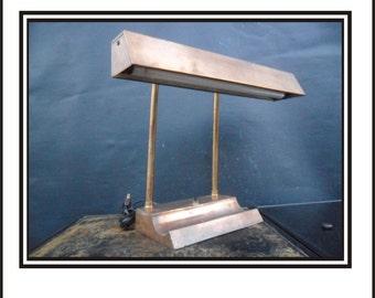 Antique Flourescent Tellers Lamp