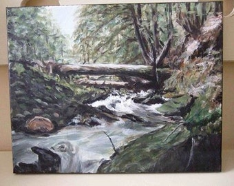 Original Custom Painting from Photo in Acrylic by Melloizes