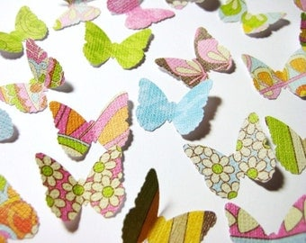 100 Khloe Lane Classic Butterfly punch die cut scrapbooking embellishments E1572