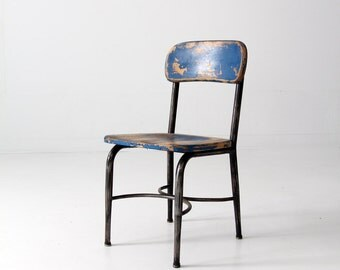 vintage children's chair by Haywood Wakefield