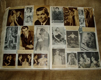 Huge Vintage Hollywood Scrapbook and Advertising, 1929 OY & Co. Catalog
