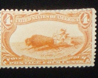USA Mint Stamp, 287 Trans-Mississippi Exposition, c. 1898