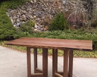 Live Edge Walnut Tables