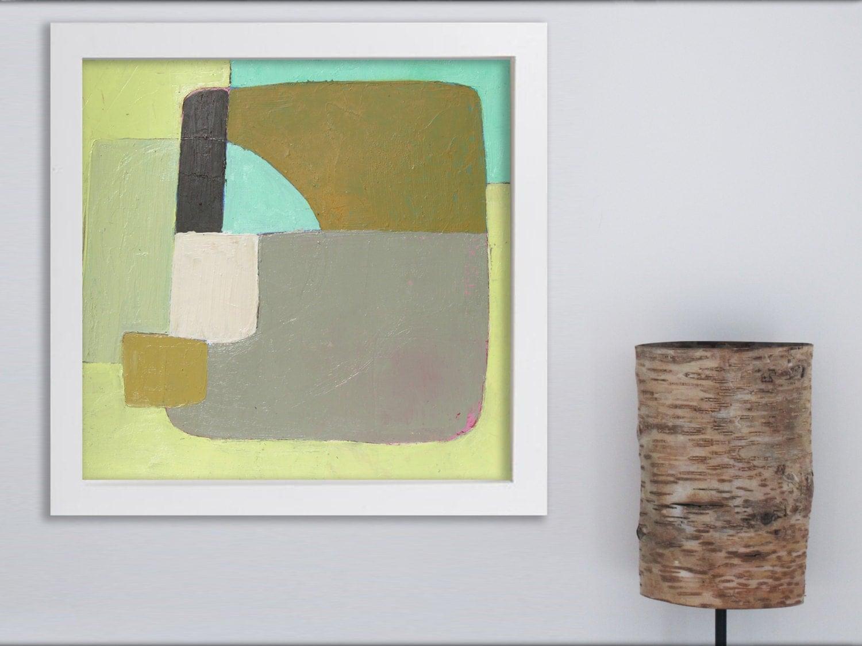 Peinture g om trique peinture minimaliste peinture for Tableau minimaliste