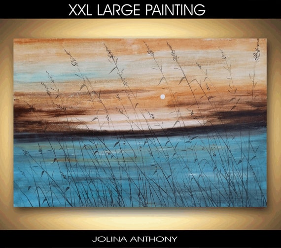 "Art Painting Acrylic painting 54"" Abstract  Painting  Wall Decor Wall Art , from jolina anthony signet  express shipping"