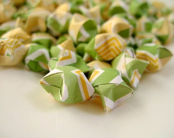 100pcs Lucky Stars Origami Lucky Star Origami Stars, Handmade, Paper Goods