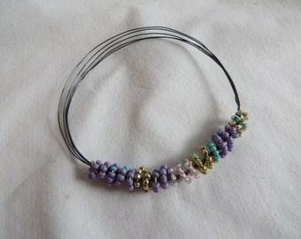 Colorful Bracelet with Wire