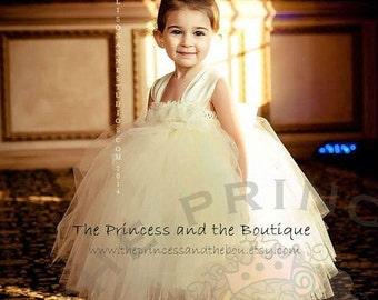 flower girl dress, flower girl dresses, ivory flower girl dress, tutu dress, tutu flower girl dress, flower girl dress lace, vintage dress