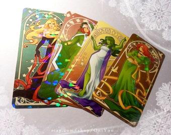 Nouveau Superladies Bookmarks