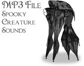MP3 File of Stilt Spirit Sound Effects - Instant Download