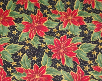 "2 Yards x 44"" Wide Holiday Christmas Cotton Fabric"