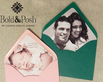 Color Photo Envelope Liners