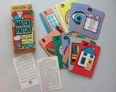 vintage card game Match Patch
