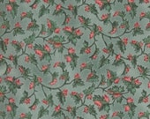 Natures Tranquility Brushed Cotton Fabric, by Cheri Strole, for Moda Fabrics, 100 Percent Cotton, 1 yard cut