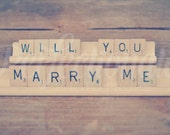 Will You Marry Me Sign| Scrabble Sign | Engagement Prop | Engagement Idea | Unique Proposal Idea | Creative Proposal Idea