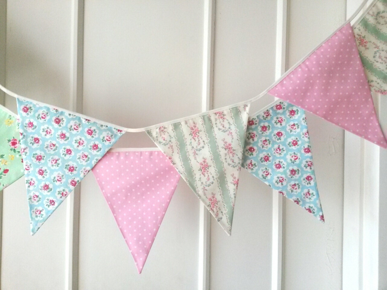 shabby chic bunting - photo #24
