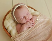 Premium Cheesecloth Wrap--Photo Prop--Cheesecloth Baby Wrap in Neutral or Brown Tones-Latte, Tan, Ivory, or Chocolate Brown