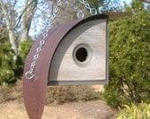 MODERN BIRDHOUSE | Unique Bird Hosue | Outdoor Birdhouses