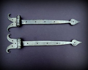 Hand Forged Strap Hinges , Forged by Blacksmith Naz